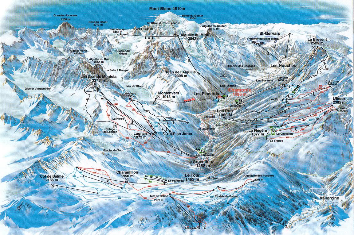 Plan urbain vallée de Chamonix Piste_plan_Chamonix